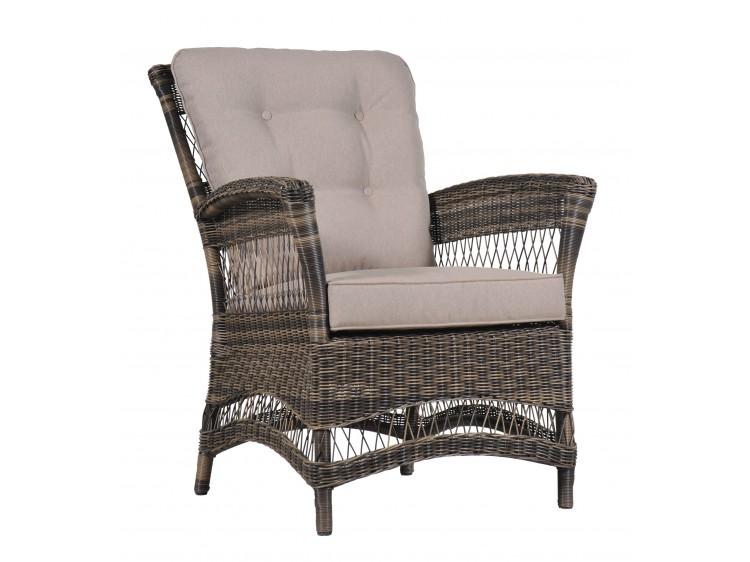 Portland Dinning ARM Chair with 5cm Cushion