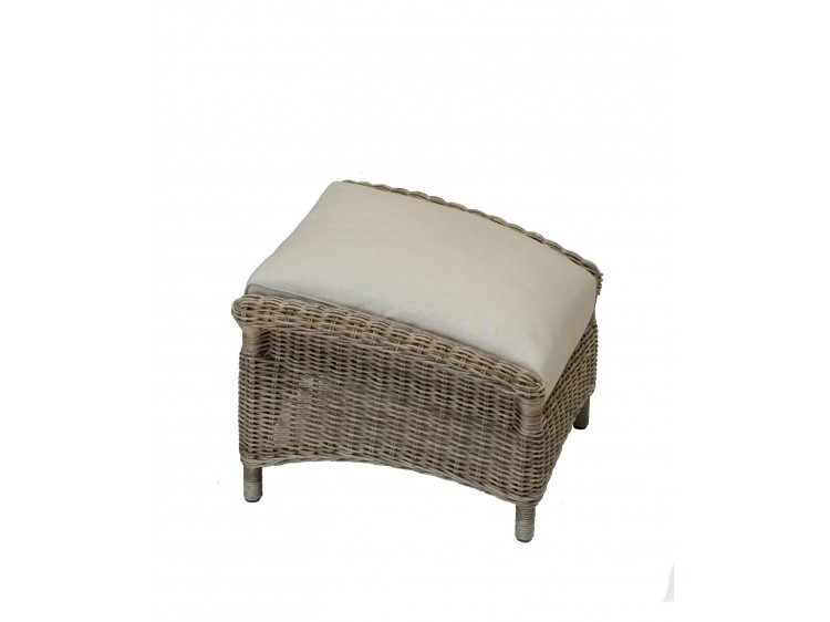 Yale Foot Stool with 8 cm Cushion